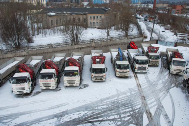 Аренда манипулятора в СПб