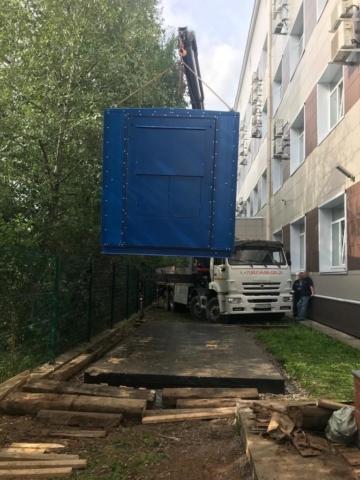 перевозка крупногабаритного груза в СПб