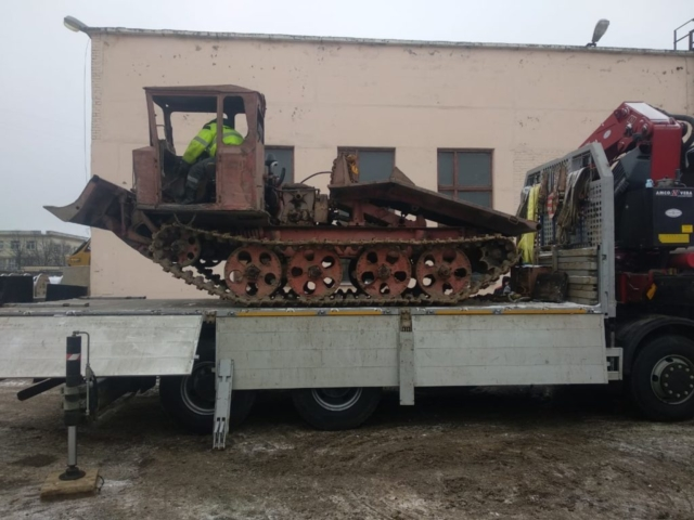 Перевозка негабаритных грузов в СПб