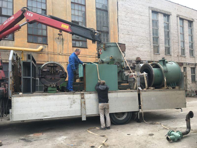 Перевозка технологического оборудования