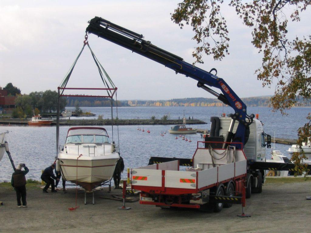 Перевозка катеров и лодок