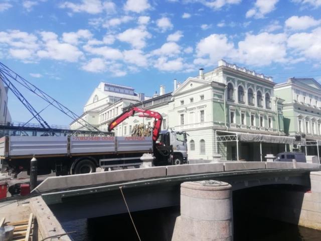 Манипулятор для ремонта Торгового моста