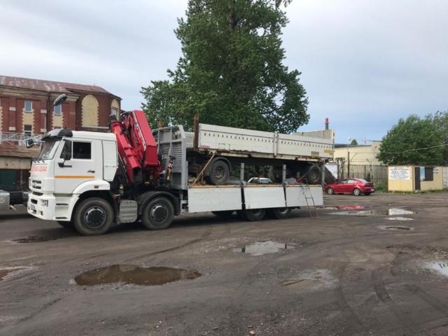перевозка крупногабаритных и тяжеловесных грузов