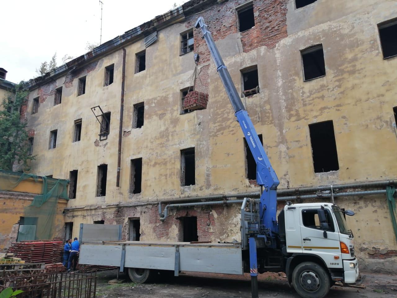 манипулятор для ремонта зданий