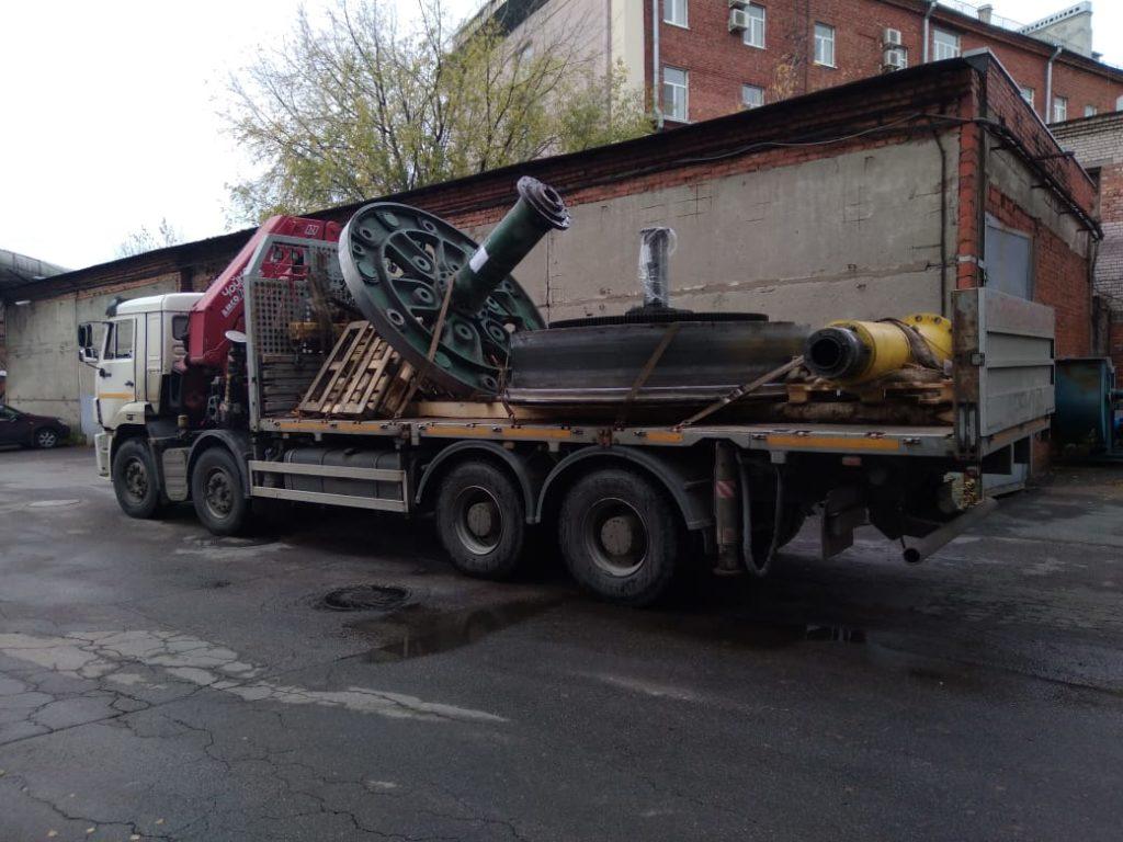Перевозка станков и оборудования для Севкабель