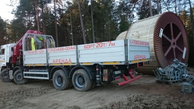 Перевозки грузов манипулятором
