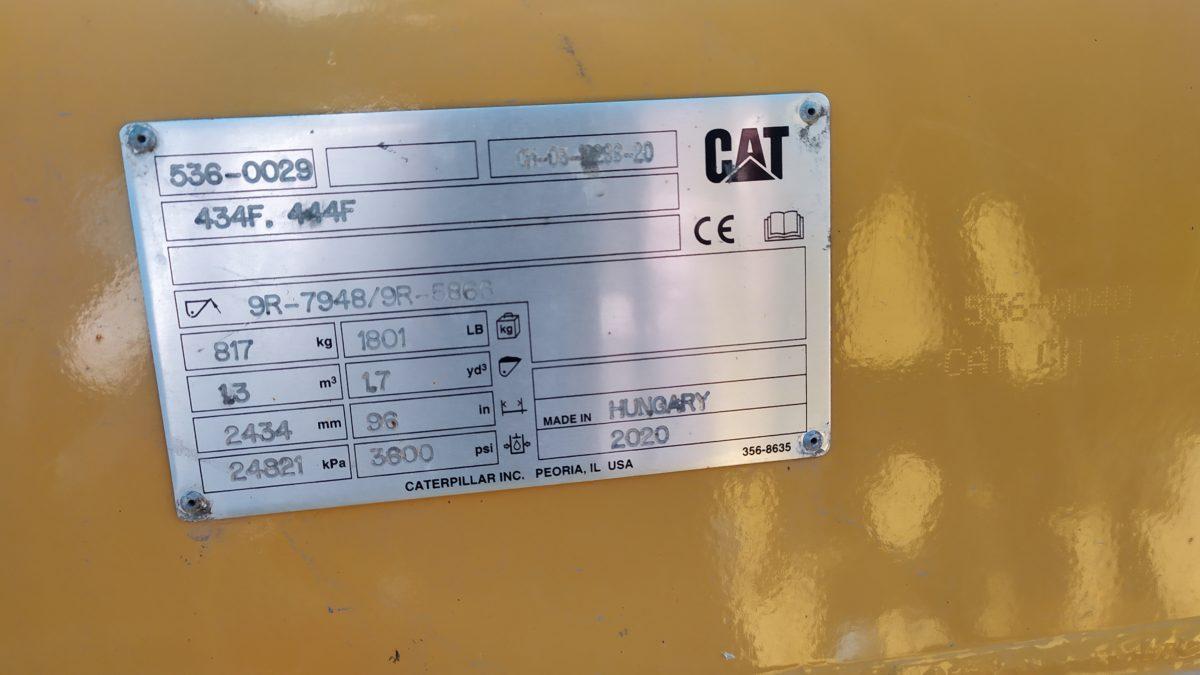 Экскаватор погрузчик Cat 444 аренда